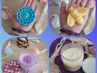Lueur Enchantée : des bougies, des fondants ! j'ai testé les bougies anti-moustique!!