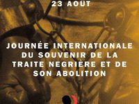 23 août, Journée internationale du souvenir de la traite négrière et de son abolition