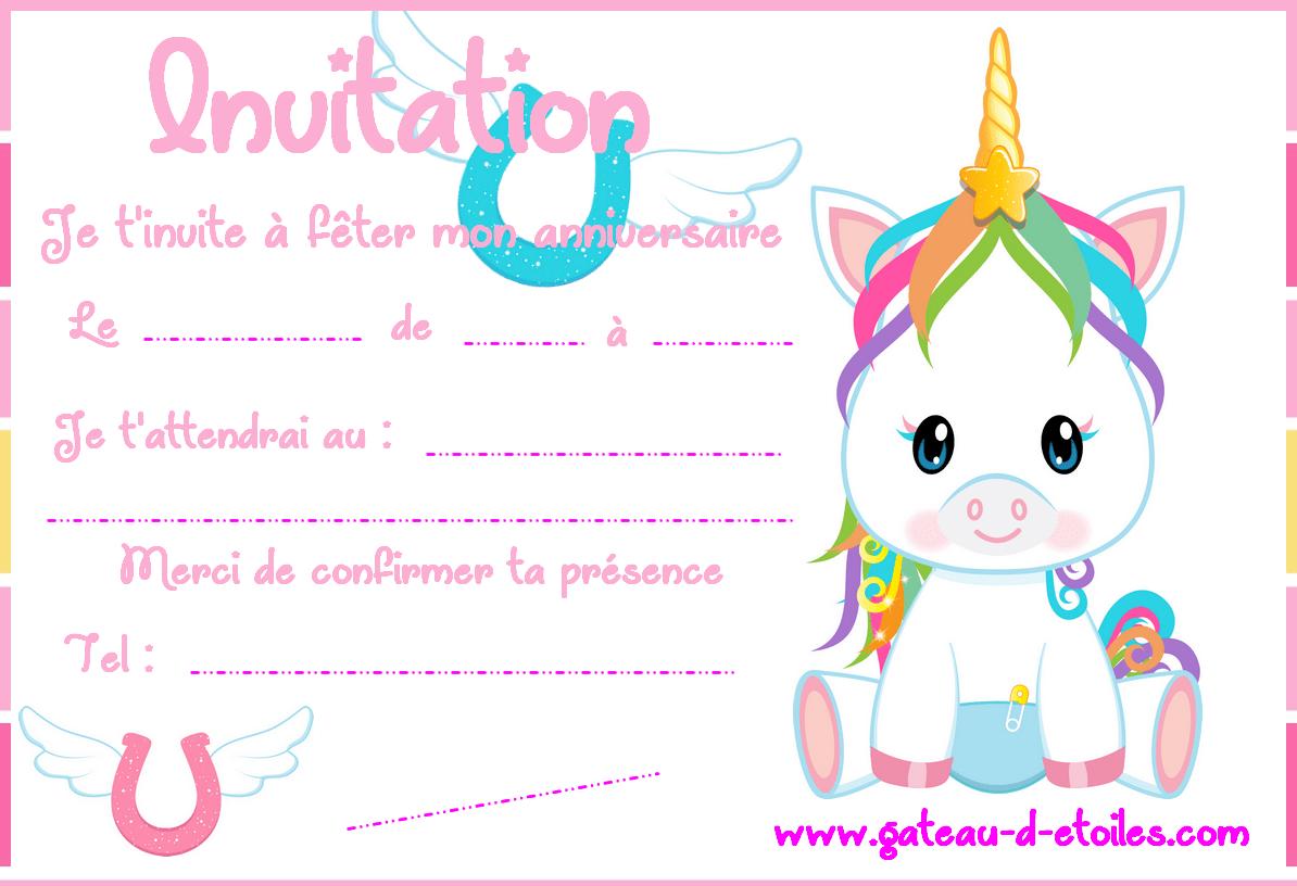 carte d invitation gratuite bebe