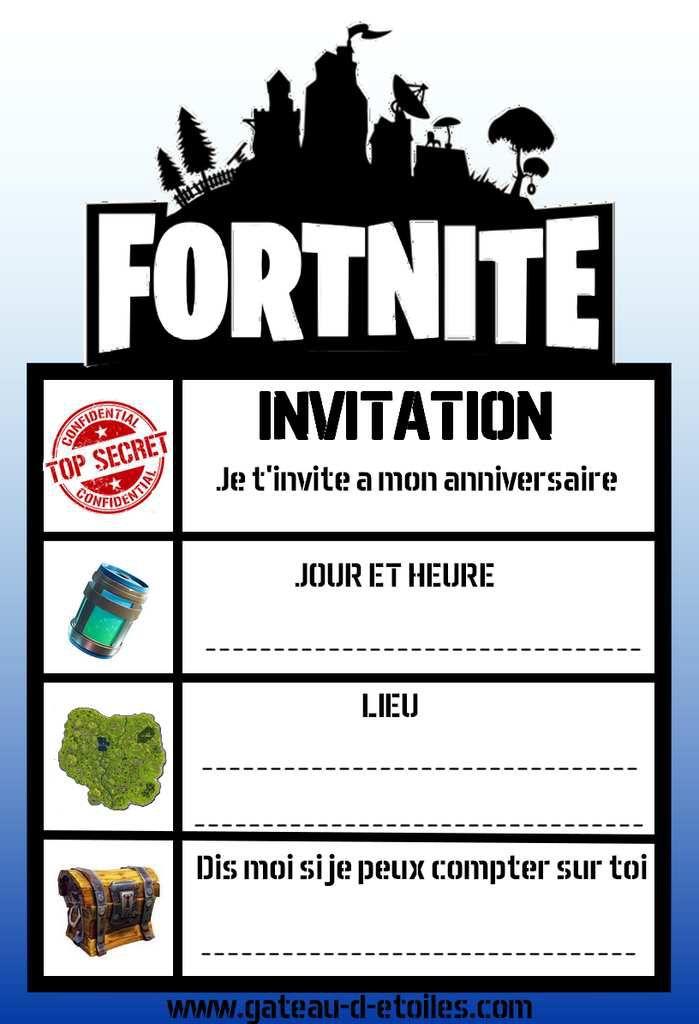 invitation gratuite fortnite
