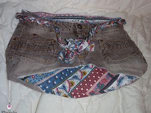 Le pantalon qui devint sacs et pochette
