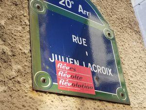 R de Belleville, r Julien Lacroix, r des Maronites,(2) (25/03/20)