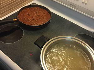 J'ai jamais autant cuisiné de toute ma vie �