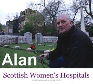 Alan, l'ami écossais.