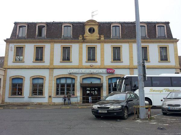 La gare de Longwy