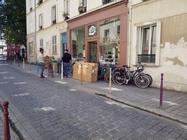 Pharmacie r de Ménilmontant,  r Julien Lacrois, r des  Amandiers, r du Liban (06/05/20)