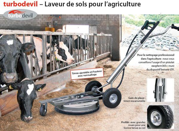 Laveur de sols pour l'agriculture