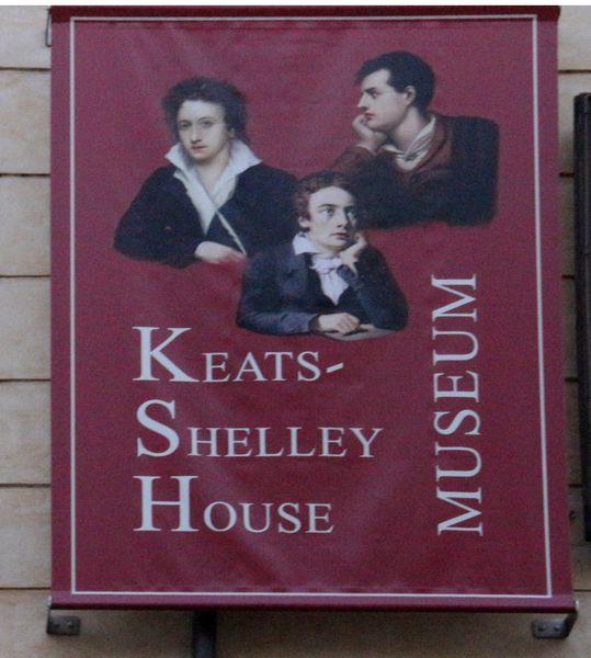 Balade Littéraire #23 : Keats-Shelley House - Rome
