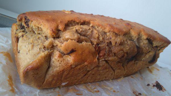 Banana Bread au peanuts butter : que du bonheur
