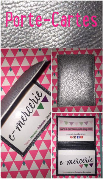 Porte-cartes facile - Tuto couture DIY
