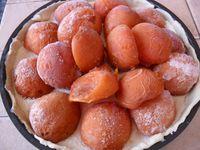 tarte abricot cru