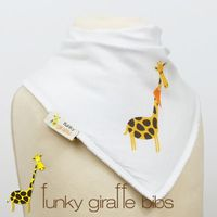 the bavoir bandana funky girafe