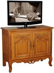2931C Meuble tv écran plat 2 portes - HONFLEUR