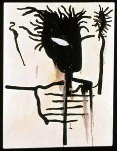 15 Basquiat Autoportrait 1986 Galerie Alain Le Gaillard Par