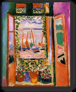 Le cercle de l art moderne exposition au mus e du for Matisse fenetre ouverte collioure