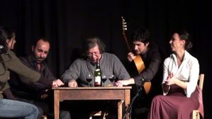 Flamenco de table