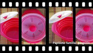 Film papillote familiale pliable