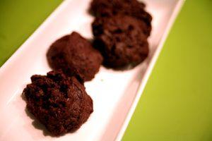 weihnachtsplätzchen 2014 - chocolate cookies