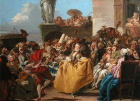 Scène de Carnaval, Le menuet, Giovanni
