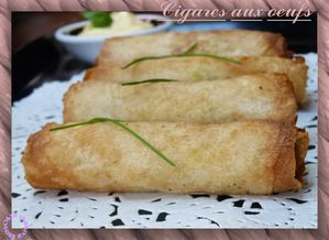 cigares oeufs
