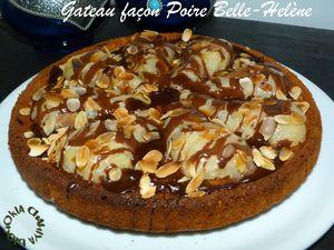 tarte aux poires et choco