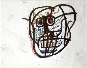 21 Basquiat 82 Crâne Chaim & Read NY