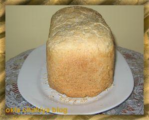pain brioché aux flocons d'avoine