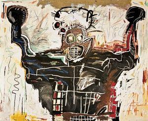 27 Basquiat vie the boxer christies 13m livres 2008