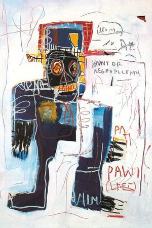 24 Basquiat 81 Ironie du policier noir Collection Dan and