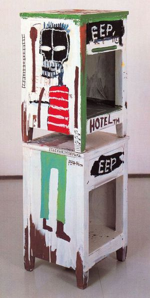 36 Basquiat sculpteur 1985 Sans titre Setagaya Art Museum Toky