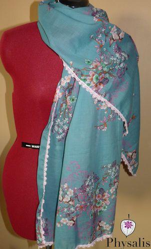 foulard cerisiers