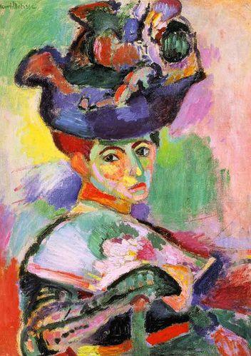 Femme au Chapeau-1905