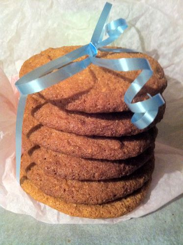 cookies miel et amandes