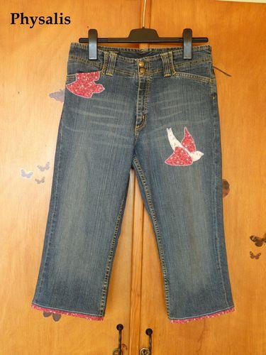 pantalon décoré