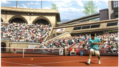 TOP SPIN 4 Sampras Slam Clay Rome