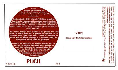 Étiquette2009