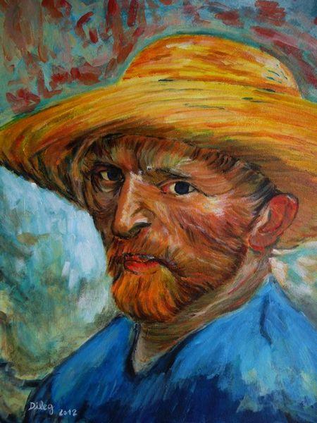 """Résultat de recherche d'images pour """"autoportrait de van gogh"""""""