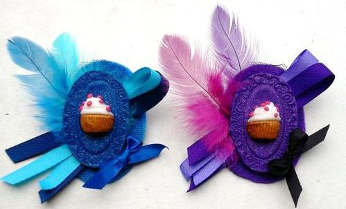 Broches Cupcake