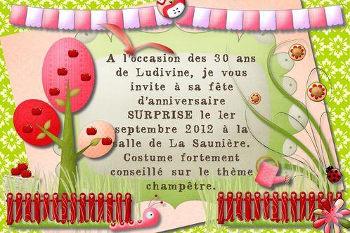 carte d invitation champetre quand mimi cree le blog de mimi
