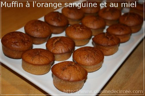 muffin à l'orange sanguine et miel 05