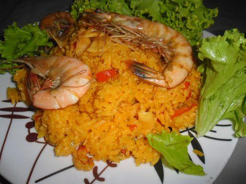 Paella des Caraibes