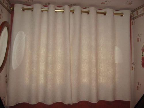 faire ses doubles rideaux avec oeillets
