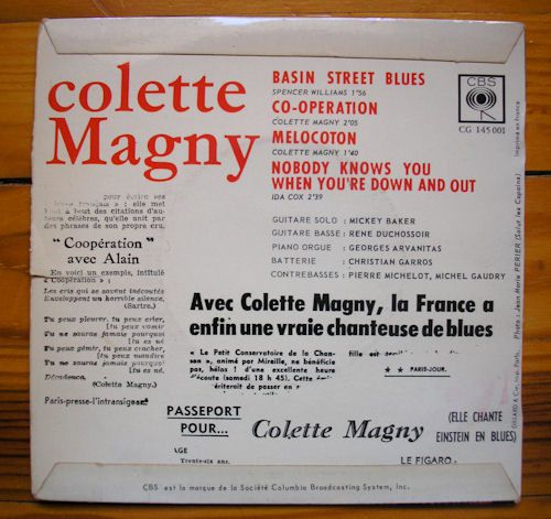 COLETTE MAGNY EP