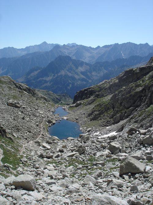 Pyrénées : Lacs de la Cardinquère:Embarrat (2078m)-Pourtet (2420m)-Nère (2309m) 33