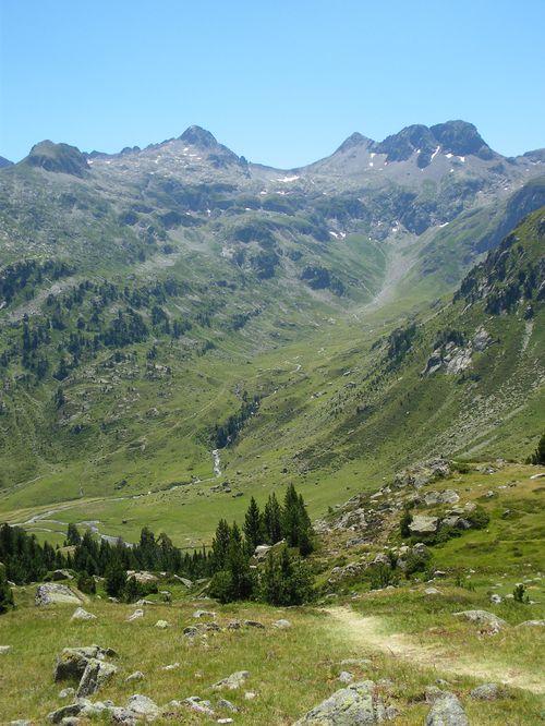 Pyrénées : Lacs de la Cardinquère:Embarrat (2078m)-Pourtet (2420m)-Nère (2309m) 49