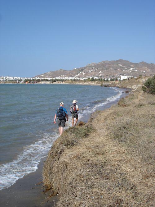 Naxos: Presqu'île de Prokopios et plage d'Agia Anna 21