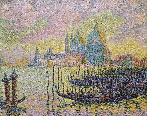 Paul Signac, Grand Canal (Venise)-light