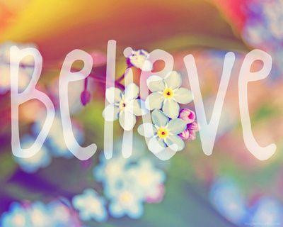 croire /décider de changer de vie