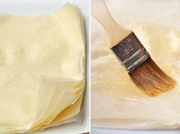 feuille brick filo recette facile