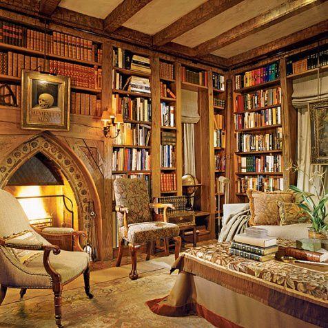 Des Ides Dco Le Bureau Bibliothque Le Blog De